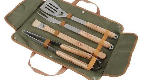 Set ručních nástrojů na grilování a pouzdra EsschertDesignBBQ