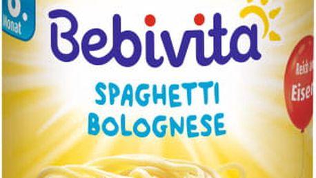 BEBIVITA Boloňské špagety (220 g) - masozeleninový příkrm