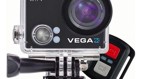 Niceboy VEGA 4K + dálkový ovládač - vega-4K + BT reprodduktor Niceboy SOUNDgo v ceně 590 Kč + Niceboy Selfie tyč 52,5 cm černá v ceně 450 Kč