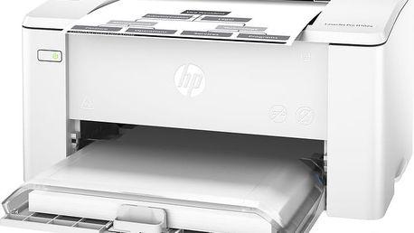 HP LaserJet Pro M102a - G3Q34A + HP pastelky + Poukázka OMV v ceně 200 Kč HP IPG