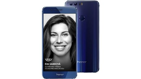 Honor 8 Premium, modrá