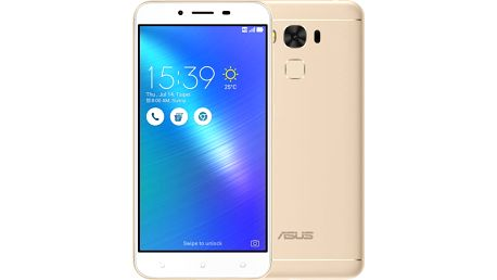 ASUS ZenFone 3 Max ZC553KL-4G032WW, zlatá - 90AX00D1-M01050