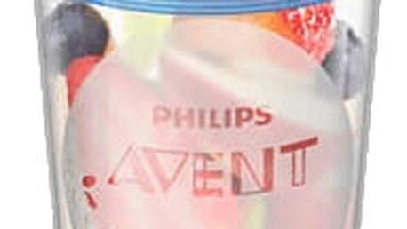 AVENT VIA pohárky s víčkem 240 ml – (5 ks)