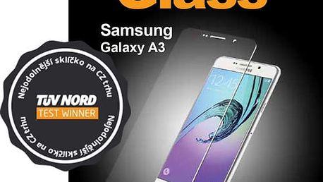 PanzerGlass ochranné sklo na displej pro Samsung Galaxy A3 (2016), černé - 1551