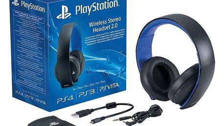 PlayStation - Wireless Stereo Headset 2.0, černá - PS719281788