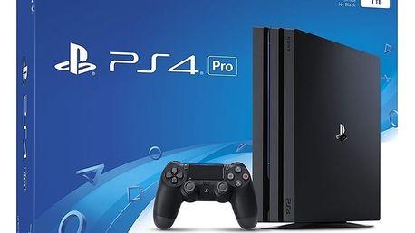 PlayStation 4 Pro, 1TB, černá - PS719887256 + Externí disk Sony 2TB v ceně 4000 kč