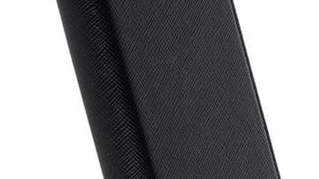 Krusell MALMÖ 4 CARD flipové pouzdro pro Huawei P10 Lite, černá - 61015