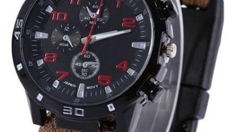 Outdoorové hodinky s kompasem - mix barev