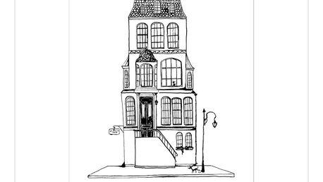 Plakát Leo La Douce La Maison Coco, 29,7x42cm