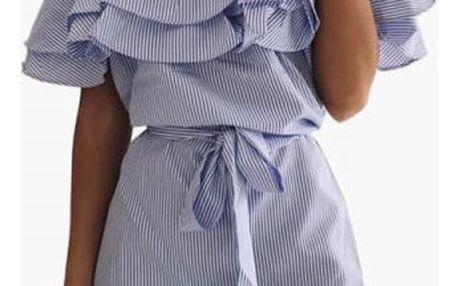 Romantické letní šaty s volánkem - více barev