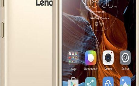 LENOVO K5 Dual SIM (PA2M0029CZ), zlatá