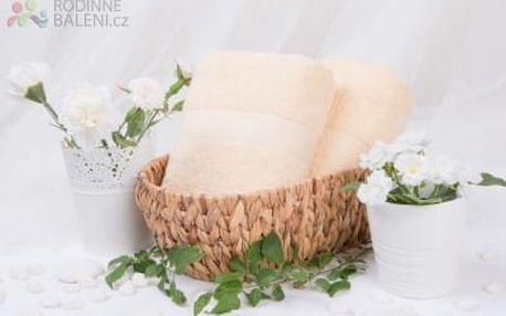XPOSE ® Froté osuška VERONA - vanilková 70x140 cm