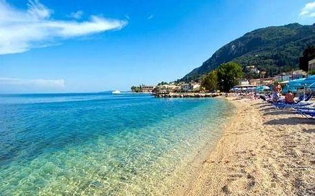 Řecko - Korfu na 8 dní, polopenze s dopravou letecky z Prahy