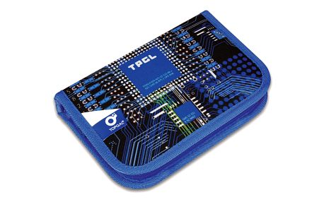 Školní pouzdro Topgal CHI 762 D - Blue