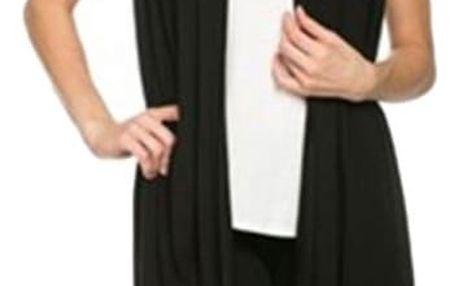 Dámská vesta dlouhá - 3 barvy
