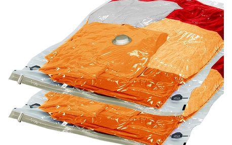 Sada 2 vakuových pytlů na oblečení Ordinett, 50x76cm