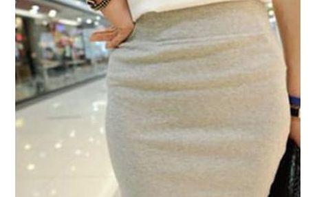 Mini sukně s elastickou gumou - mix barev