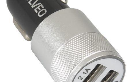 Evolveo MX220, univerzální Dual USB nabíječka do auta