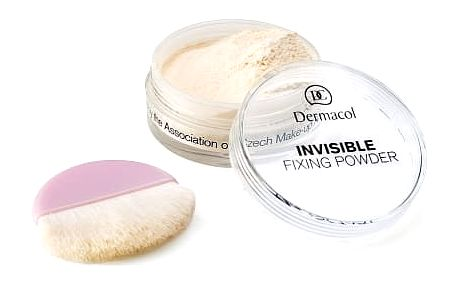 Dermacol Invisible Fixing Powder 13 g pudr pro ženy Light