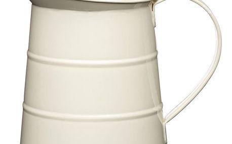 Krémový džbán na vodu Kitchen Craft Living Nostalgia, 1,1 litru