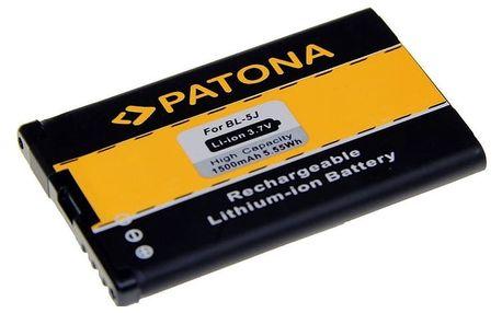 PATONA baterie pro mobil Nokia BL-5J 1500mAh 3,7V Li-Ion