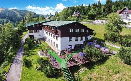 3–5denní pobyt s polopenzí v hotelu Venuše pro 2 ve Špindlerově Mlýně
