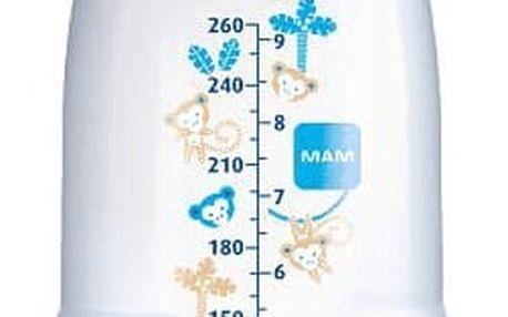 MAM Láhev Anti Colic, savička vel.1, 260ml modrá