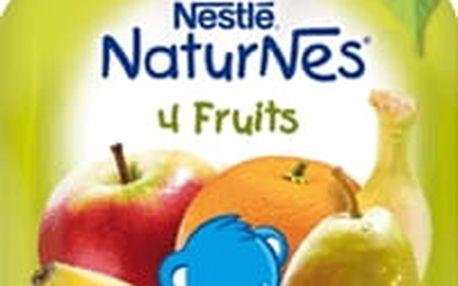 NESTLÉ NATURNES 4 ovoce (90g) - ovocná kapsička