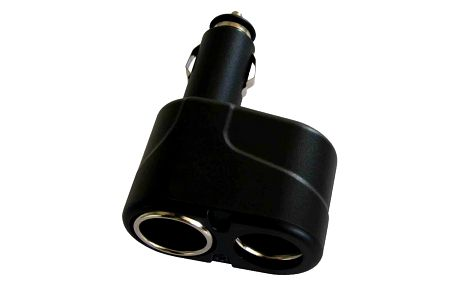 Rozdvojka do zásuvky zapalovače automobilu Fontastic Twinfon, box - LAUSP2