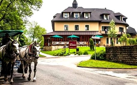 Wellness pobyt na 3 dny pro dvě osoby v luxusním Golf hotelu Morris**** s polopenzí a procedurami.