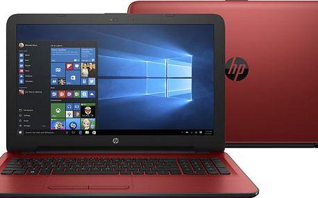 HP 15 (15-ba065nc), červená - X3L18EA