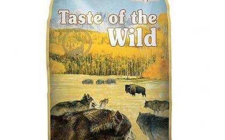 Granule Taste of the Wild High Prairie 13 kg + Antiparazitní obojek za zvýhodněnou cenu + Doprava zdarma