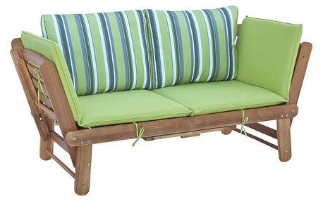 Rozkládací zahradní lavice z akátového dřeva SOB Garden - doprava zdarma!