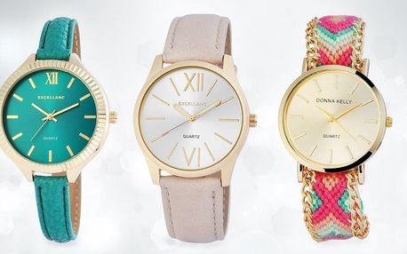 Elegantní dámské hodinky: vládněte svému času
