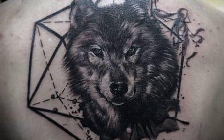 Profesionální tetování o rozměru 10 x 15 cm v Adrenalin Tattoo