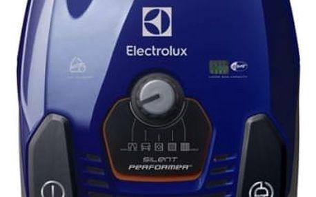 Vysavač podlahový Electrolux SilentPerformer ZSPCLASSIC šedý/modrý