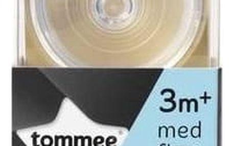 Savička na láhev Tommee Tippee C2N střední průtok 3+, 2ks