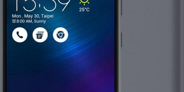 ASUS ZenFone 3 Max ZC520TL-4H077WW, šedá - 90AX0086-M02240