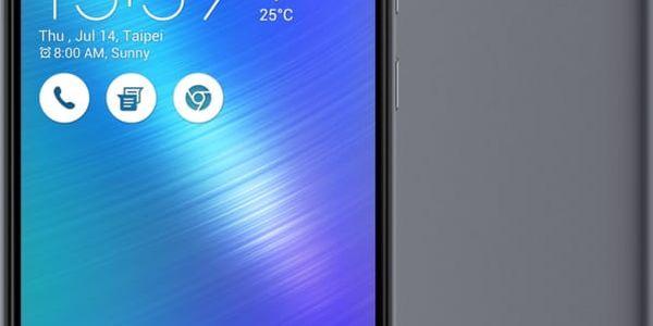 ASUS ZenFone 3 Max ZC553KL-4H033WW, šedá - 90AX00D2-M01040
