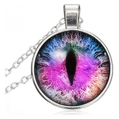 Náhrdelník dračí oko - mix barev