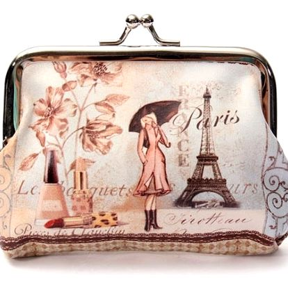 Malá peněženka ve vintage stylu - 4 varianty