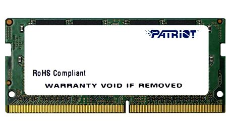 Patriot 8GB DDR4 2133 SODIMM CL 15 - PSD48G21332S