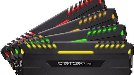Corsair Vengeance RGB LED 32GB (4x8GB) DDR4 3000 CL 15 - CMR32GX4M4C3000C15