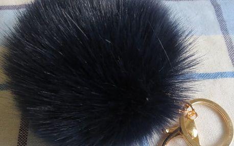Klíčenka - chlupatá koule