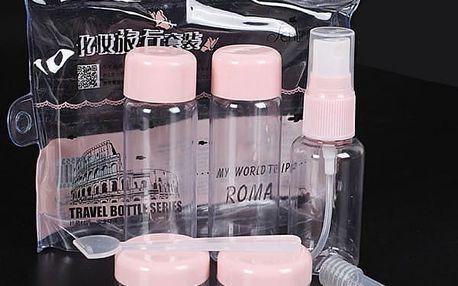 Cestovní sada lahviček - 7 ks