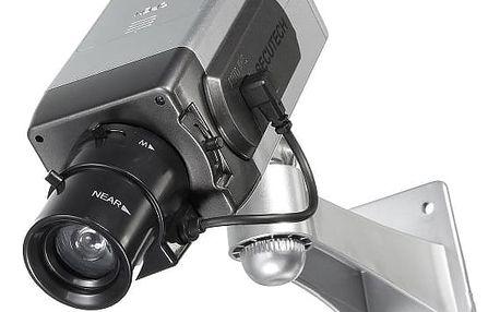Falešná bezpečnostní kamera se senzorem pohybu - pohyblivá