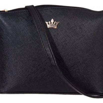 Dámská kabelka s malou korunkou - 4 barvy