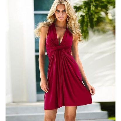 Dámské večerní šaty - 4 barvy
