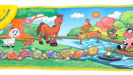 Dětský hudební kobereček - Zvířátka u potoku - dodání do 2 dnů
