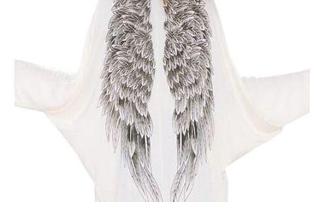 Cardigan s andělskými křídly